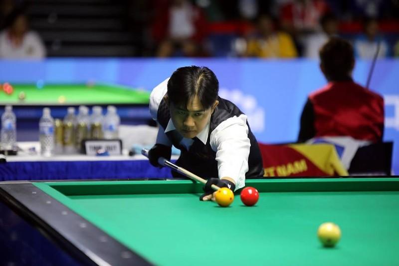 Billiards, đua thuyền vô địch, chờ điền kinh, bơi gặt vàng - ảnh 1