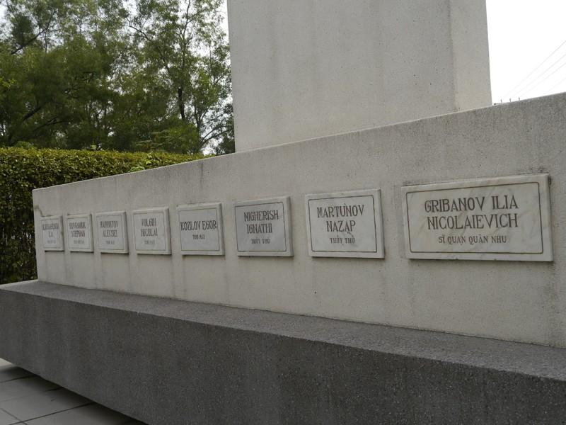 Mộ lính Nga trên đất Bình Dương - ảnh 2