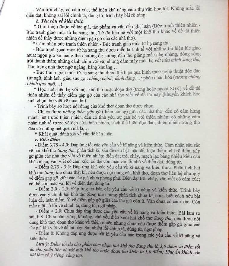 Công bố đáp án chính thức thi tuyển sinh lớp 10 tại TP.HCM - ảnh 6