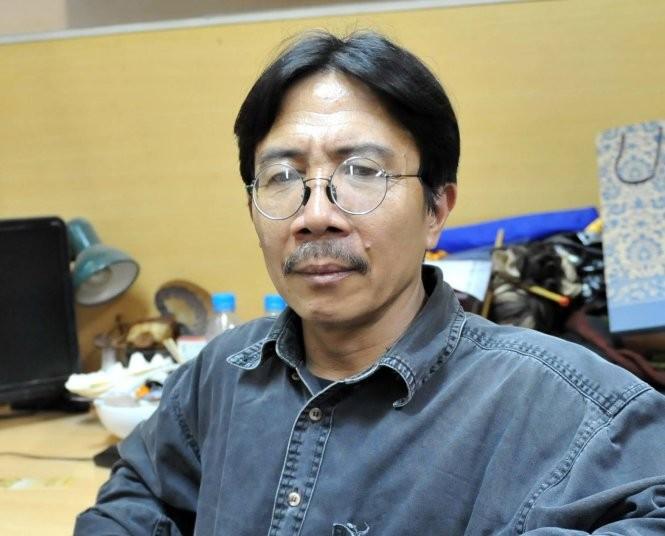 Nhà văn Nguyễn Ngọc Tiến - Ảnh tư liệu