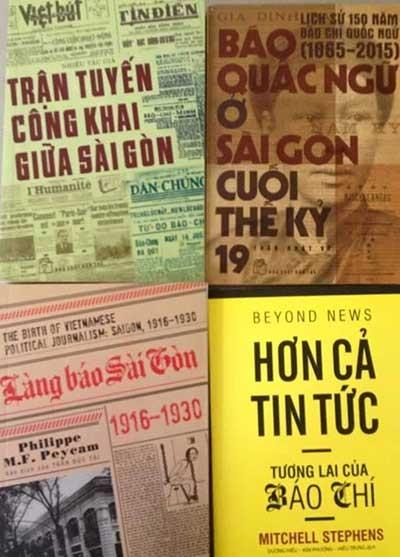 Ra mắt loạt sách về nghề báo Việt từ thời Pháp thuộc - ảnh 1