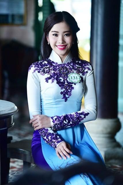 Nguyễn Thị Lệ Nam Em thi Hoa hậu Hoàn vũ Việt Nam 2015 - ảnh 3