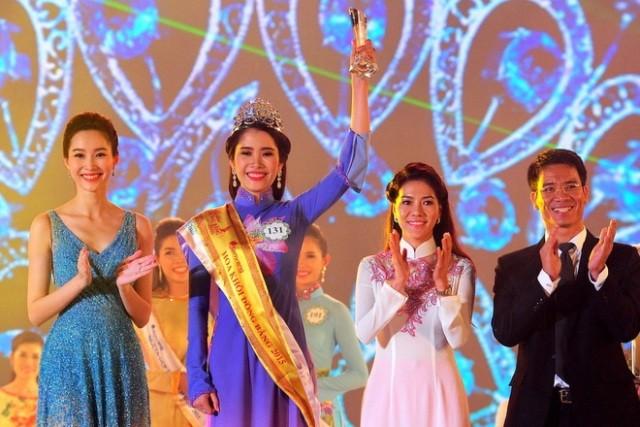 Nguyễn Thị Lệ Nam Em thi Hoa hậu Hoàn vũ Việt Nam 2015 - ảnh 1