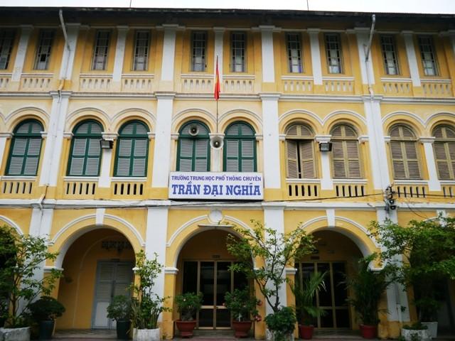 THPT chuyên Trần Đại Nghĩa, cú nhảy vọt của ngôi trường dòng năm nào - ảnh 1