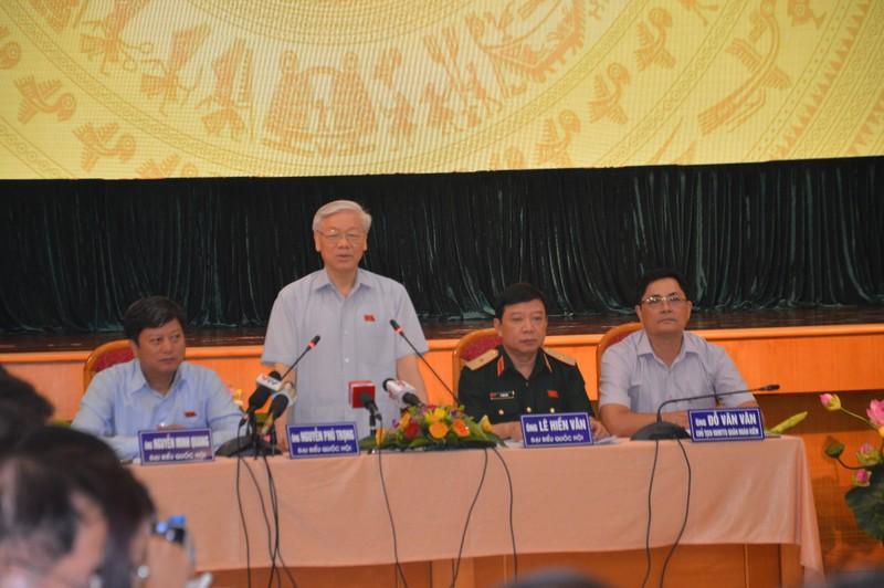 Tổng bí thư Nguyễn Phú Trọng kể chuyện thăm Mỹ - ảnh 1