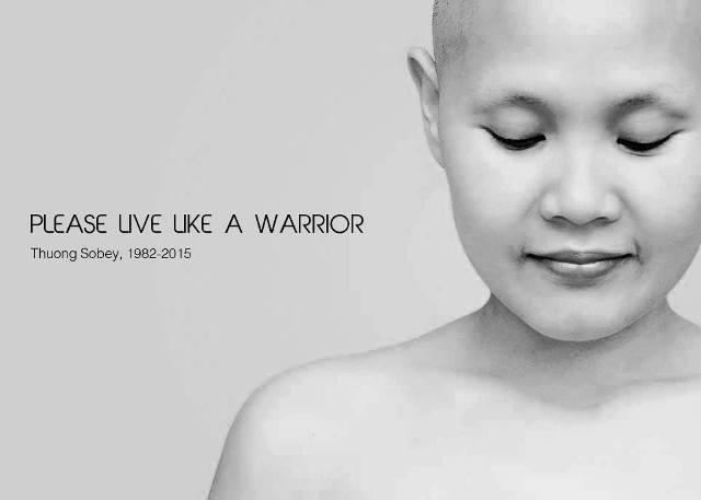 Tự sự xúc động của cô gái đầu trọc về người chị qua đời vì ung thư vú - ảnh 1