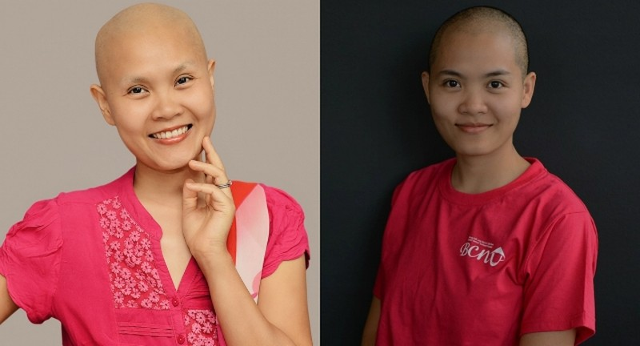 Tự sự xúc động của cô gái đầu trọc về người chị qua đời vì ung thư vú - ảnh 3