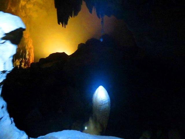 Bí ẩn những hình thù kỳ bí trong hang Phong Nha - ảnh 11