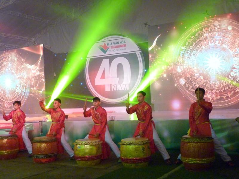 Nhà văn hóa Thanh niên kỷ niệm 40 năm thành lập - ảnh 1