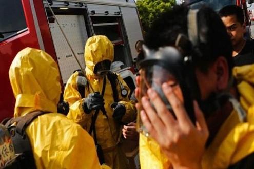 Rò rỉ hóa chất ở Trung Quốc 41 người nhập viện - ảnh 1