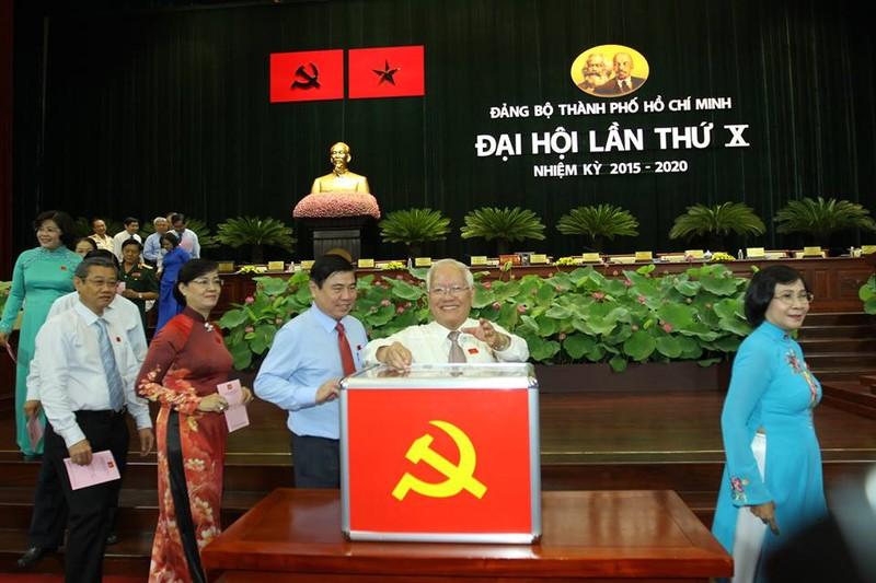Bầu 69 thành viên vào Ban Chấp hành Đảng bộ TP.HCM khóa X - ảnh 3
