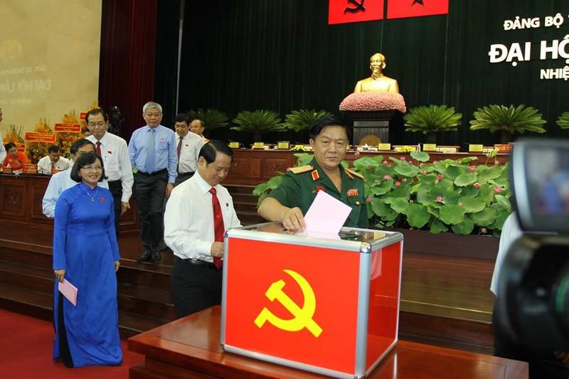 Bầu 69 thành viên vào Ban Chấp hành Đảng bộ TP.HCM khóa X - ảnh 5