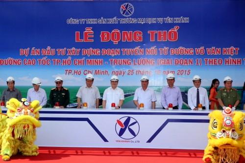 Nối đường Võ Văn Kiệt vào tuyến cao tốc TPHCM-Trung Lương - ảnh 1