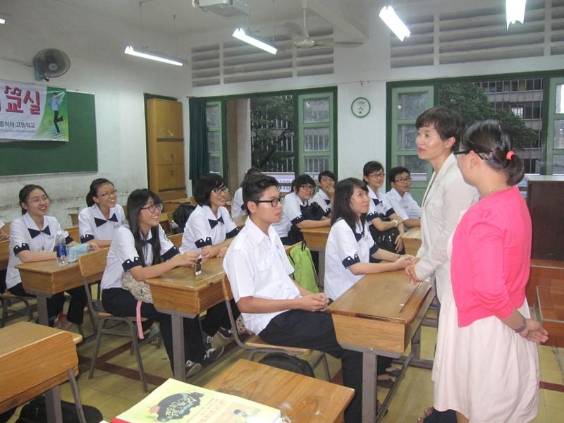 Đưa tiếng Hàn vào giảng dạy cho học sinh THPT - ảnh 1