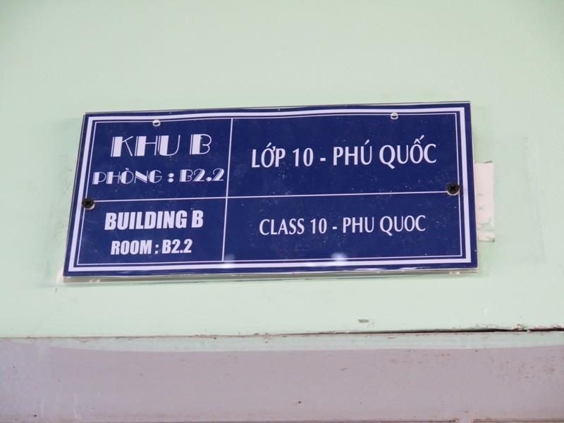 Độc đáo: Lớp học được đặt theo tên các hòn đảo của Việt Nam  - ảnh 2
