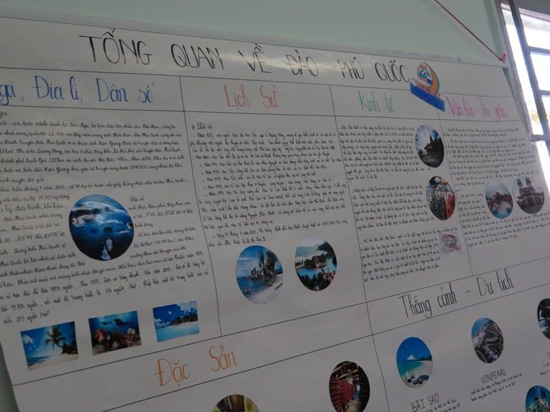 Độc đáo: Lớp học được đặt theo tên các hòn đảo của Việt Nam  - ảnh 5