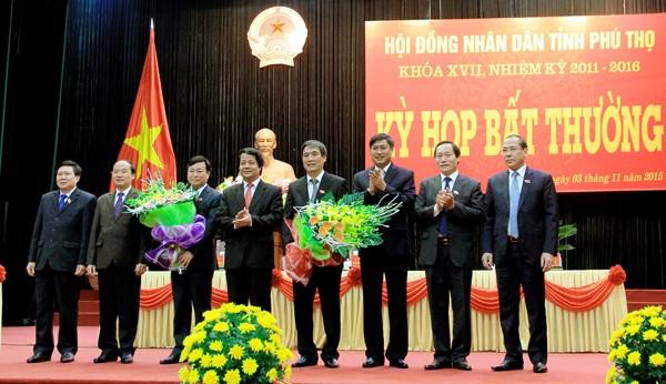 Thủ tướng Chính phủ phê chuẩn nhân sự 3 tỉnh - ảnh 1