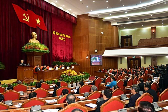 Hội nghị Trung ương 13: Đề cử nhân sự Bộ Chính trị, Ban Bí thư - ảnh 1