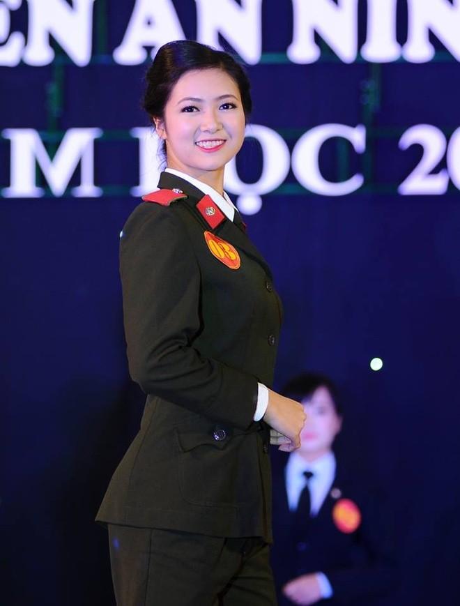 Nữ sinh đẹp nhất Học viện An ninh nhân dân - ảnh 1