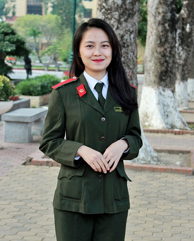 Nữ sinh đẹp nhất Học viện An ninh nhân dân - ảnh 9