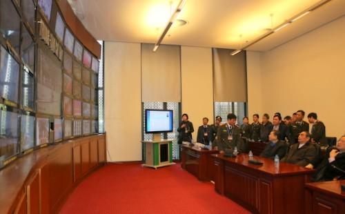 Tổng kiểm tra công tác phục vụ đại hội XII của Đảng  - ảnh 4