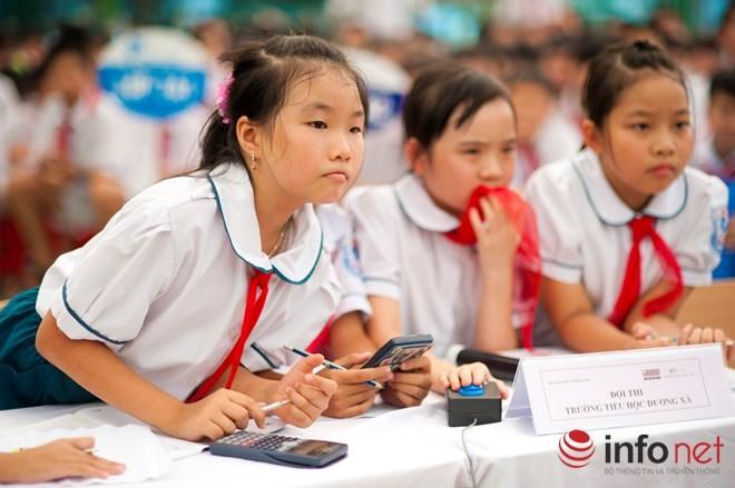 Đề thi ViOlympic quá khó, học sinh bật khóc, giáo viên lo lắng - ảnh 1