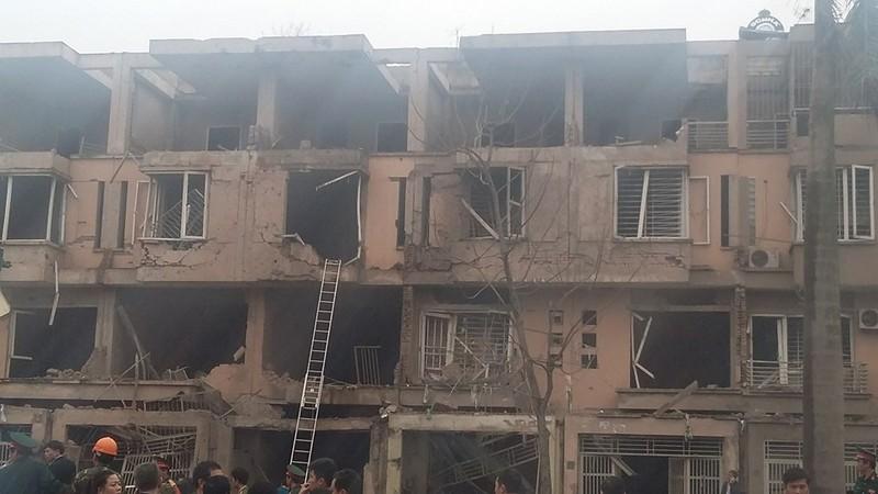 Toàn cảnh vụ nổ kinh hoàng ở Văn Phú - Hà Đông - ảnh 13