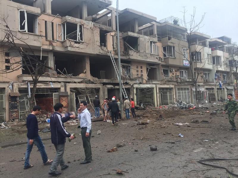 Toàn cảnh vụ nổ kinh hoàng ở Văn Phú - Hà Đông - ảnh 5
