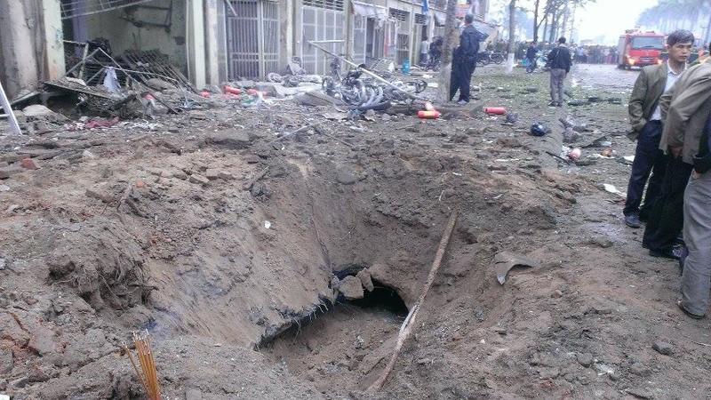 Toàn cảnh vụ nổ kinh hoàng ở Văn Phú - Hà Đông - ảnh 1