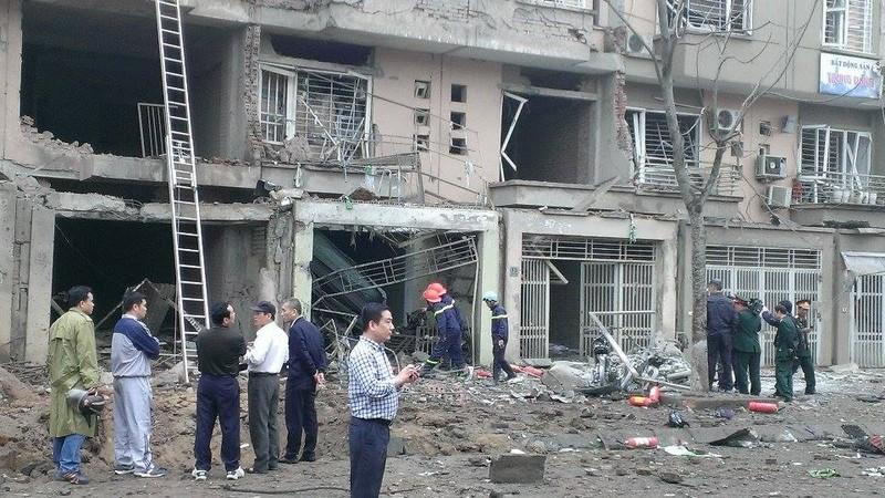 Toàn cảnh vụ nổ kinh hoàng ở Văn Phú - Hà Đông - ảnh 2