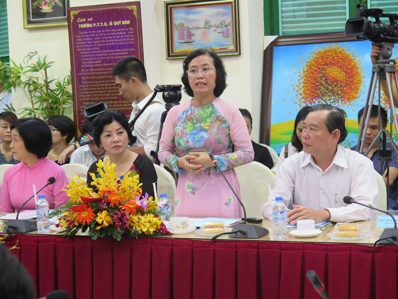 Bộ trưởng Phùng Xuân Nhạ thăm ngôi trường 143 tuổi - ảnh 5