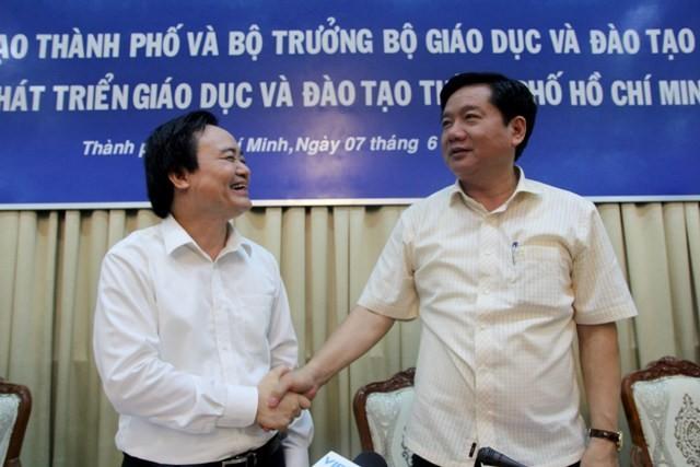 Bộ trưởng Phùng Xuân Nhạ phản hồi 8 kiến nghị lớn của TP.HCM - ảnh 2