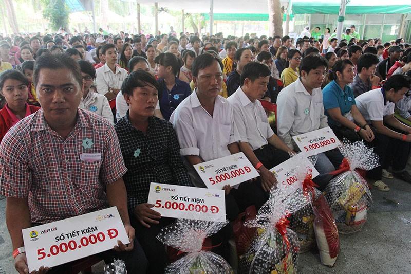Sáng nay, 1.000 công nhân tham gia Ngày hội công nhân tại Đầm Sen  - ảnh 1