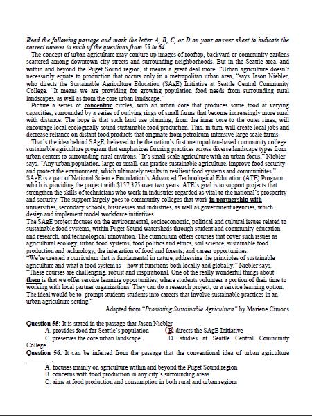 Bài giải gợi ý và đề thi môn Anh văn  - ảnh 13