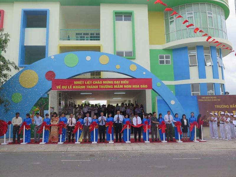 Thêm hai trường mầm non cho con em của công nhân tại khu chế xuất - ảnh 2