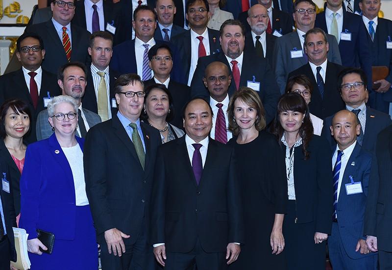 Thủ tướng tiếp các doanh nghiệp hàng đầu Hoa Kỳ - ảnh 2