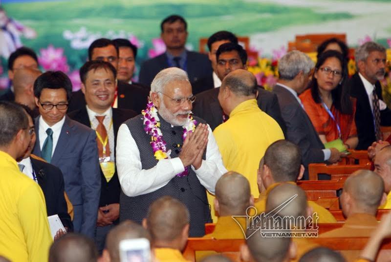 Thủ tướng Narendra Modi, Thủ tướng Ấn Độ, Thủ tướng Ấn Độ thăm VN, chùa Quán Sứ