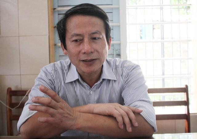 Thầy Ngô Minh Thanh nói về ý tưởng dân vũ hóa động tác học bơi để phổ cập bơi cho học sinh.