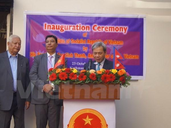 Khai trương Lãnh sự quán Việt Nam tại thủ đô của Nepal - ảnh 2