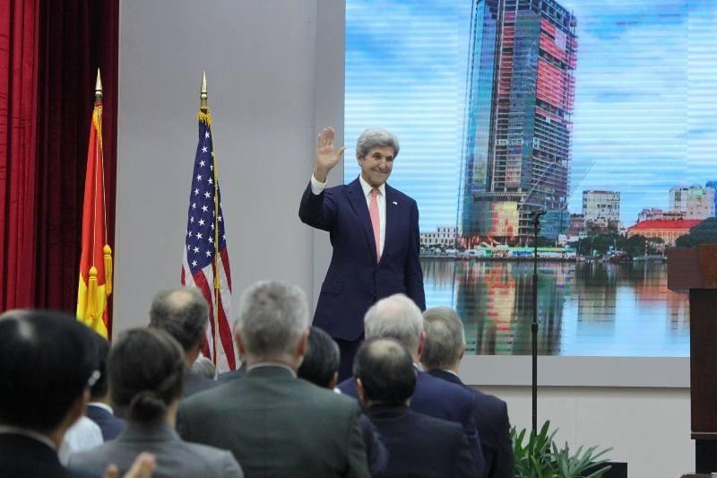 Ngoại trưởng Mỹ nói chuyện cùng thủ lĩnh trẻ Đông Nam Á - ảnh 4
