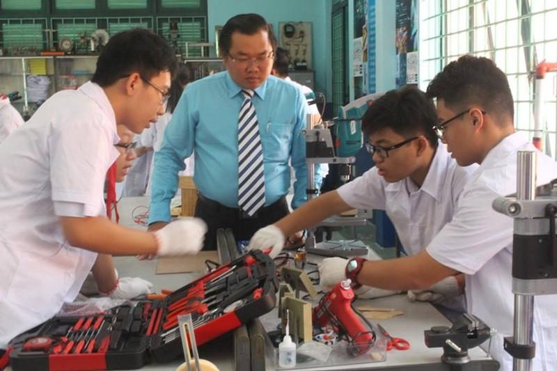'Choáng' với phòng thực hành STEM của trường Lê Quý Đôn - ảnh 2
