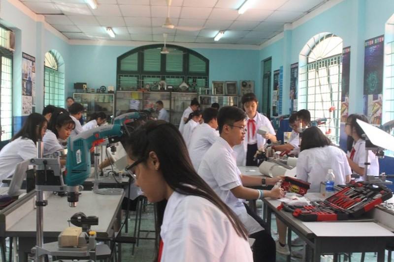 'Choáng' với phòng thực hành STEM của trường Lê Quý Đôn - ảnh 3