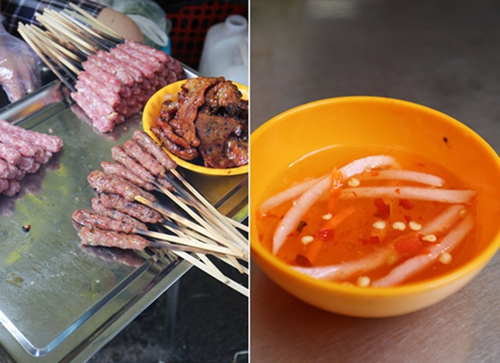 Quán bún thịt nướng ngon nhất chợ Bàn Cờ - ảnh 2