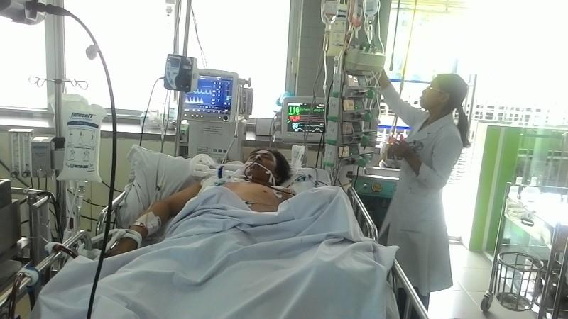 Cứu sống bệnh nhân viêm cơ tim biến chứng nguy kịch - ảnh 1