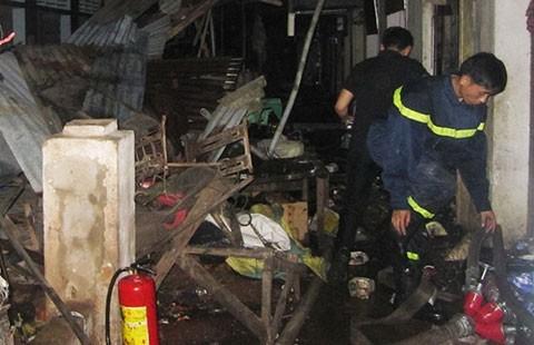 Điều tra vụ cháy chợ Nong trong đêm - ảnh 1
