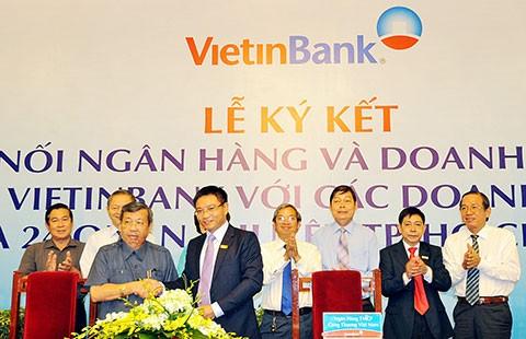 VietinBank đáp ứng tối đa nhu cầu tài chính cho DN - ảnh 1