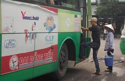 Đề án quảng cáo trên xe buýt: Ì ạch! - ảnh 1
