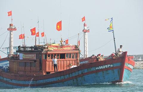 Ngư dân Lý Sơn giữ biển, bám ngư trường - ảnh 1