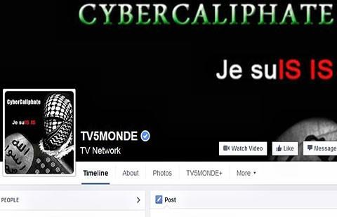 Truyền hình Pháp bị tin tặc IS tấn công - ảnh 1