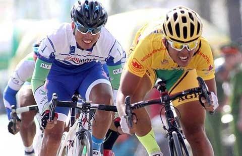 Giải đua xe đạp Cúp TH TP.HCM 2015: 84 tay đua tranh áo vàng - ảnh 1